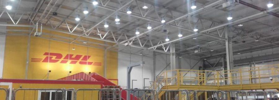 Αντικατάσταση Φωτισμού της DHL EXPRESS στο Ελευθέριος Βενιζέλος