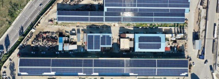 1,24 MW για τις στέγες των διυλιστηρίων Κορίνθου της Motor Oil Hellas